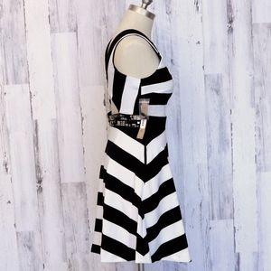 RACHEL Rachel Roy Dresses - RACHEL Rachel Roy Striped Open Back Dress 2